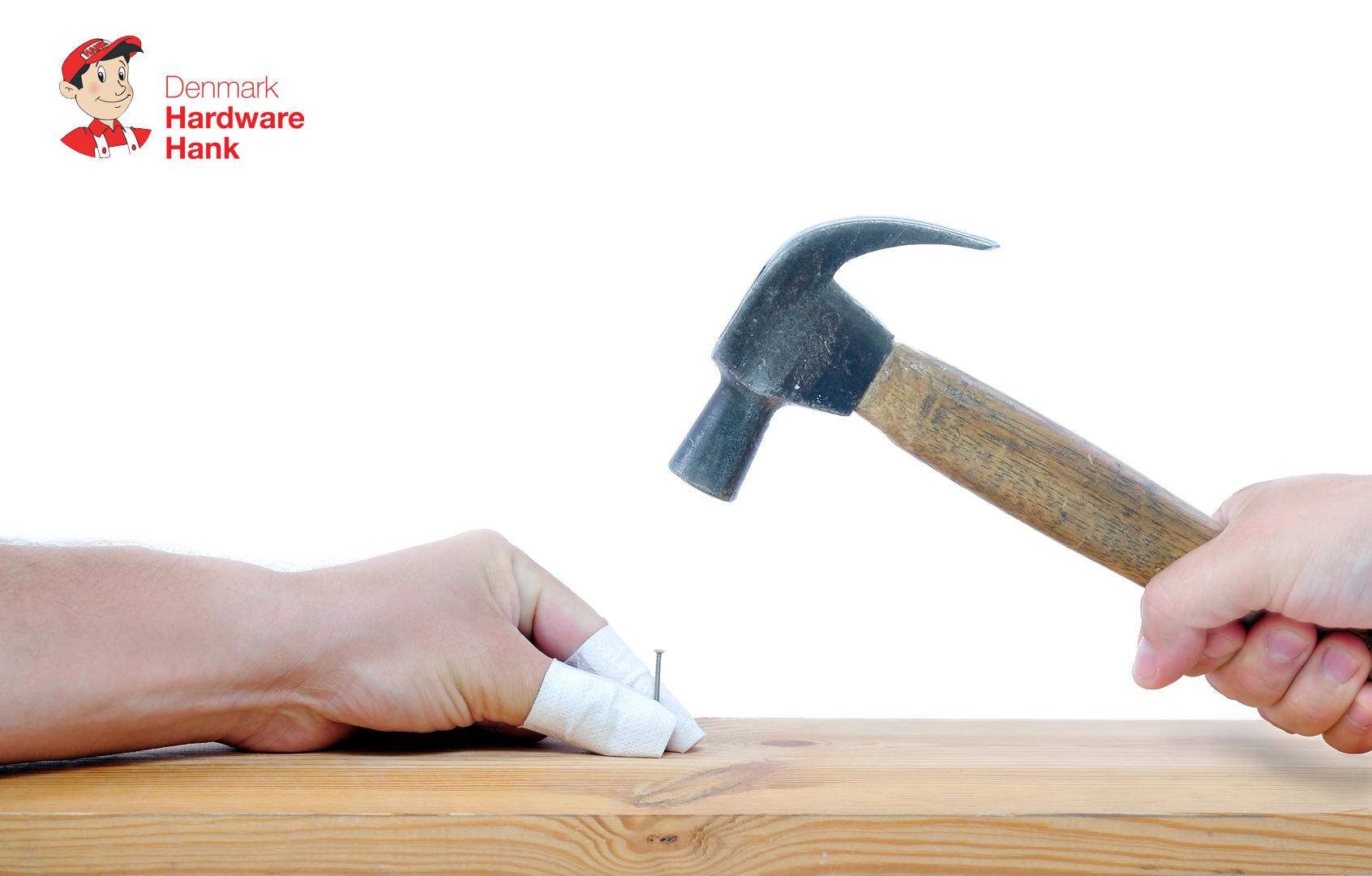 Denmark Hardware Hank Hammer and nail