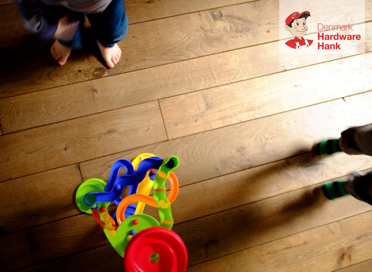 Denmark Hardware Hank squeaky hardwood floor