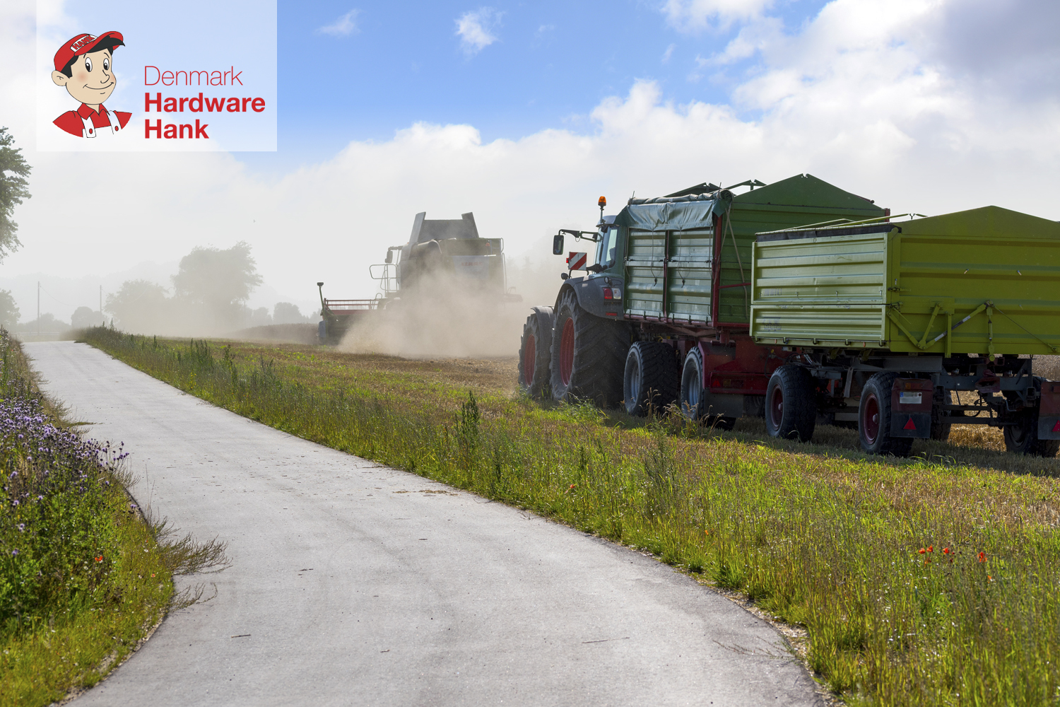 Denmark Hardware Hank Tractor Safety